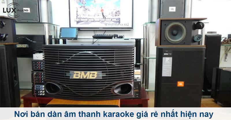 dàn âm thanh karaoke giá rẻ