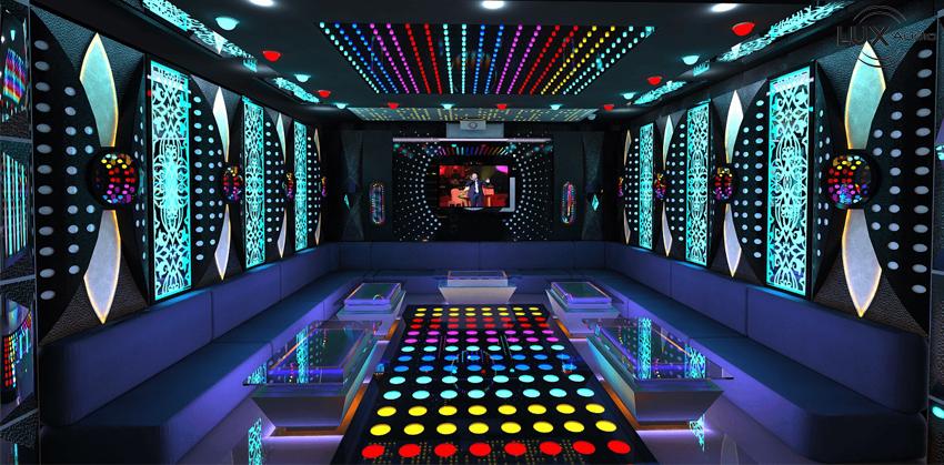 trang trí phòng hát karaoke