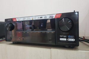 Lux Audio lắp đặt amply Denon AVR-X2700H cho khách hàng tại Bắc Giang