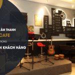 Hệ thống âm thanh quán cafe – yếu tố quan trọng giữ chân khách hàng